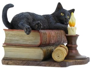 Photo of The Witching Hour Cat Figurine (Lisa Parker) 19cm
