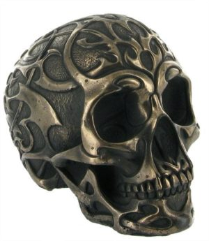 Photo of Tribal Skull Bronze Medium