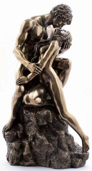 Photo of True Love The Kiss Bronze Nude Figurine
