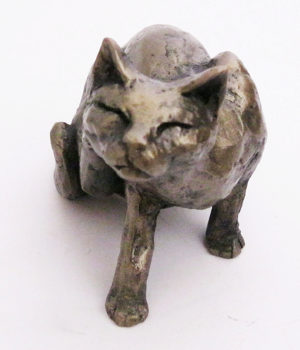 Photo of Whiskey the Cat Sculpture