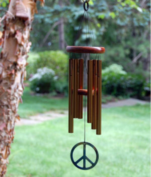 Photo of Woodstock Peace Chime Bronze