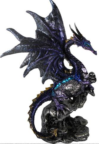 Photo of Purple Overseer Dragon Figurine (Alator)
