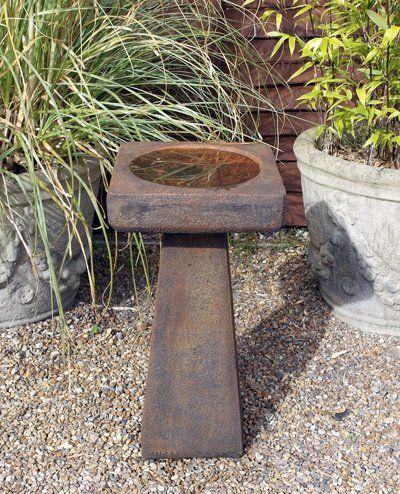 Phot of Stone Birdbath