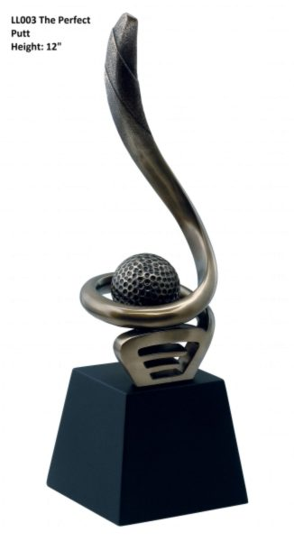 Photo of The Perfect Putt Bronze Sculpture
