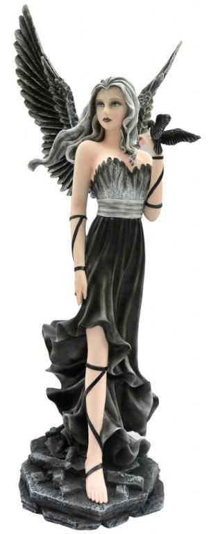 Photo of Andras Dark Seeker Angel Figurine 60cm Large