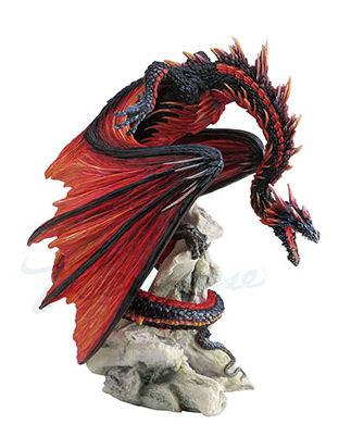 Photo of Bloodfire Dragon Figurine (Andrew Bill) 21 cm