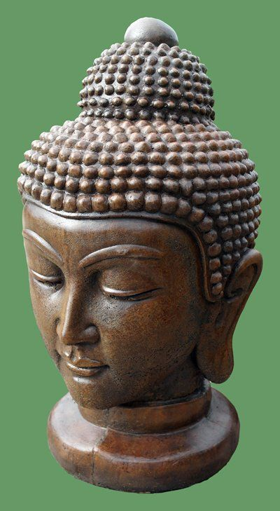 Phot of Buddha Head Stone Ornament