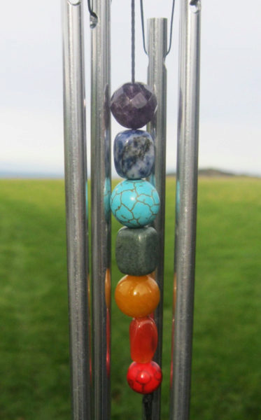 Photo of Chakra Seven Stones Wind Chime