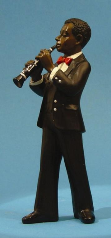 Photo of Clarinet Player All That Jazz Figurine