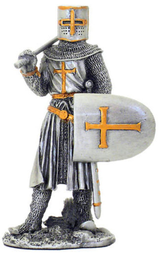Photo of Crusader Pewter Figurine
