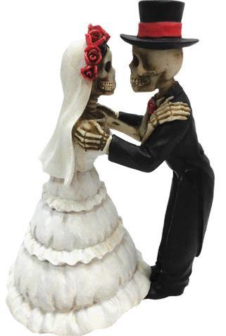 Photo of Endless Love Skeleton Figurines