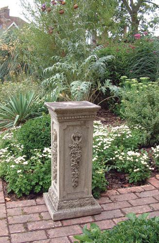 Photo of Floral Stone Plinth