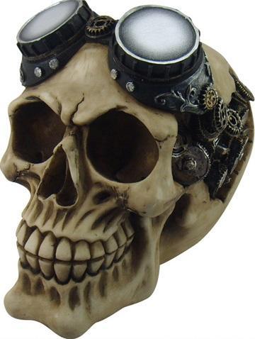 Photo of Goggles Steampunk Skull Ornament