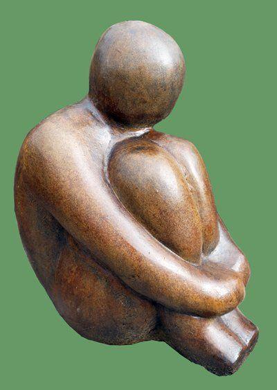 Phot of Henry Modern Stone Sculpture