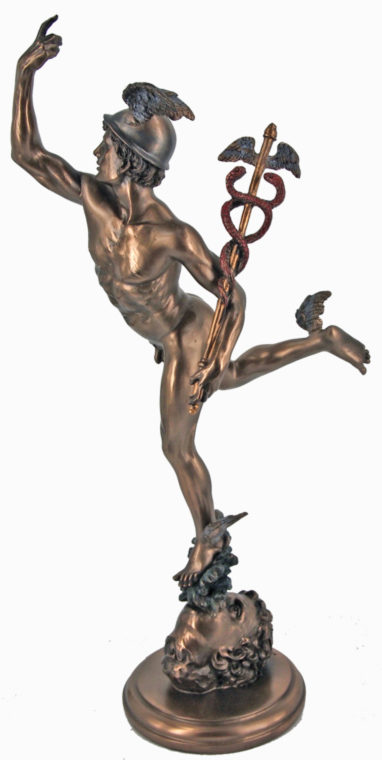 Photo of Hermes Bronze Statue 37 cm