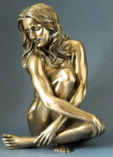 Photo of Recollection Bronze Nude Figurine Large