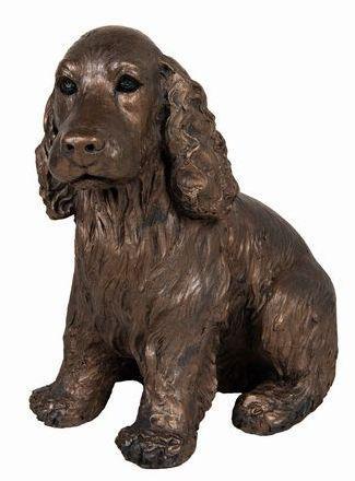 Photo of Ruby Cocker Spaniel Bronze Figurine Adrian Tinsley
