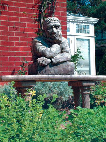 Photo of The Gardener Stone Sculpture