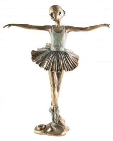 Photo of Ballerina Beautiful Dance Bronze Figurine 2