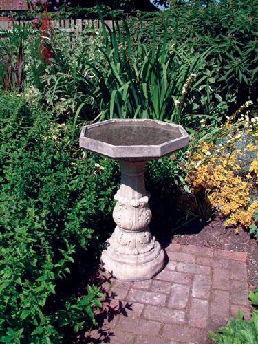 Photo of Classical Stone Birdbath