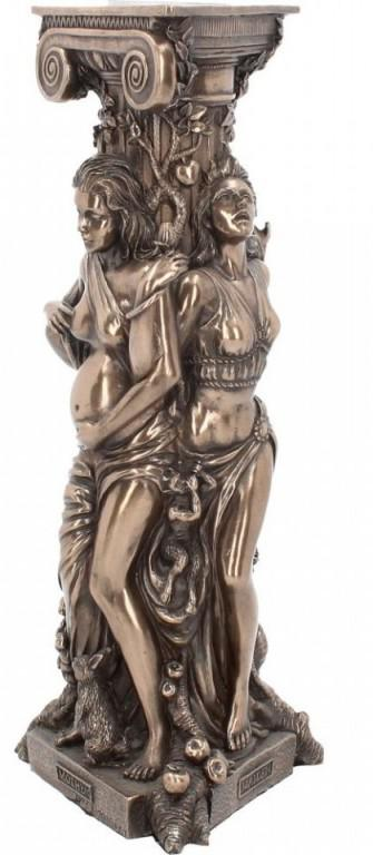 Photo of Maiden Mother and Crone Tealight Holder Triple Goddess