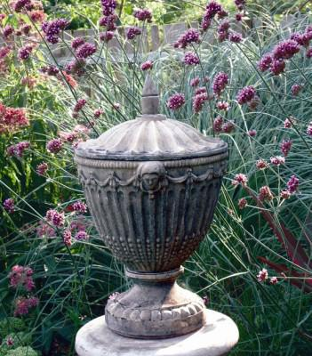 Photo of Olympic Stone Urn with Lid