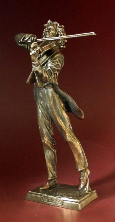 Photo of Paganini Bronze Figurine