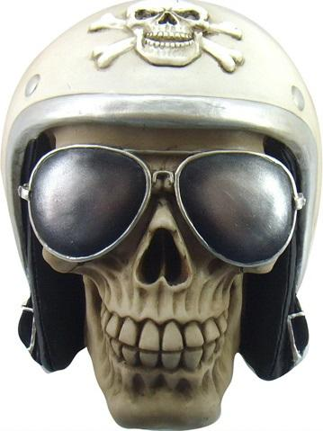 Photo of The Enforcer Skull Ornament