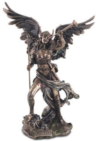 Photo of Archangel Gabriel Bronze Figurine