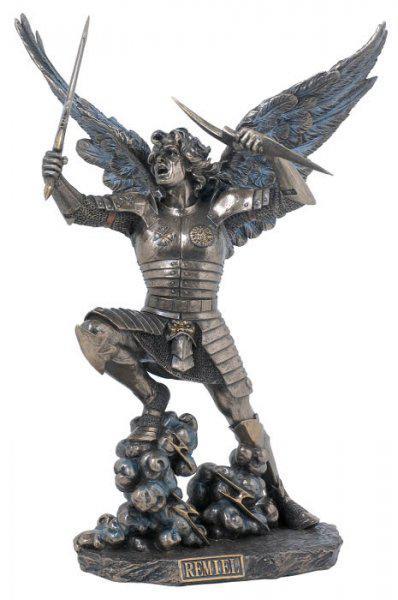 Photo of Archangel Remiel Bronze Figurine