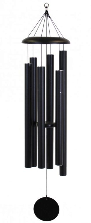 Photo of Corinthian Wind Chime Black 55 inches