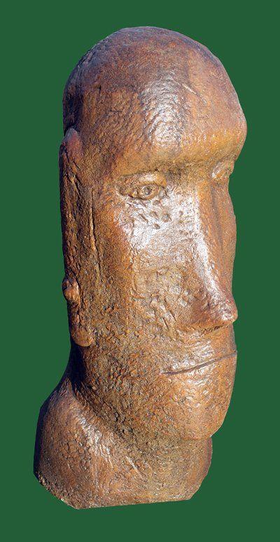 Phot of Easter Island Stone Head