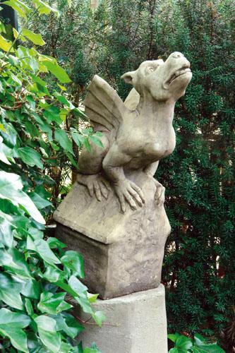 Photo of Gothic Gargoyle Stone Ornament
