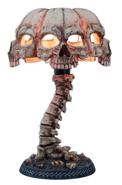 Photo of Skull Lamp