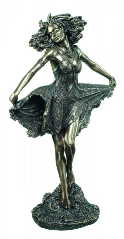 Photo of Celtic Spirit of Freedom Bronze Figurine