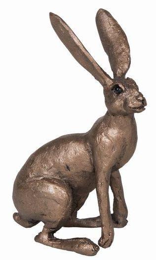 Photo of Jan Hare Alert Bronze Figurine Small (Thomas Meadows) Frith Minima