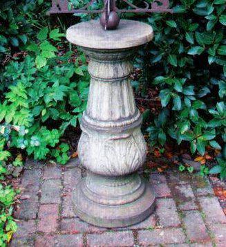 Photo of Large Stone Pedestal