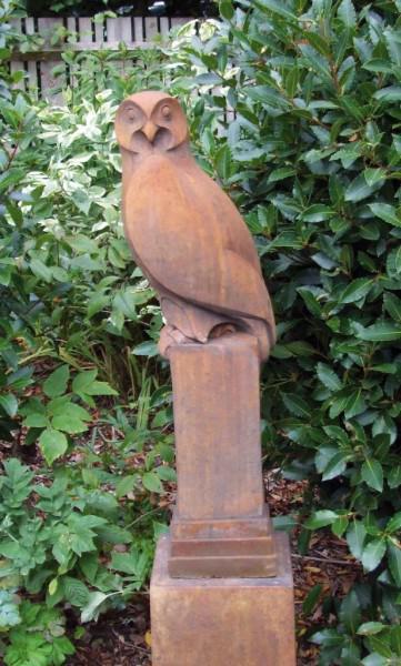 Photo of Owl Stone Sculpture (Art of Stone)