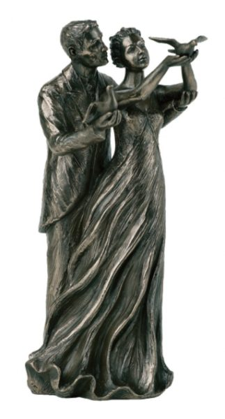 Photo of To Have and to Hold Bronze Figurine