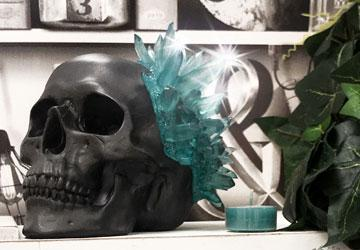 Photo of Crystal Skull Ornament