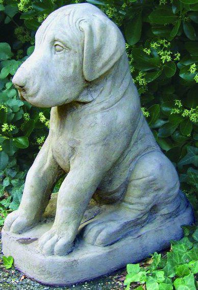 Photo of Dane Puppy Dog Stone Ornament