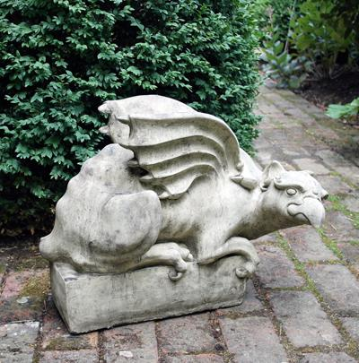 Photo of Griffin Right Stone Sculpture