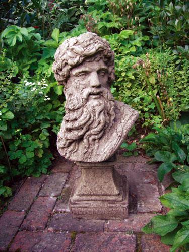 Photo of Hercules Head Stone Sculpture