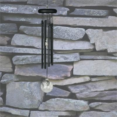 Photo of Woodstock Crystal Meditation Chime (Black)