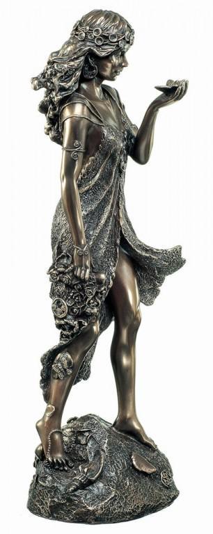 Photo of Graceful Spirit Bronze Figurine