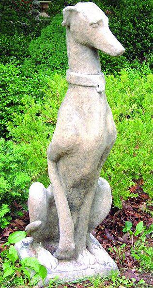 Photo of Heraldic Dog Stone Statue
