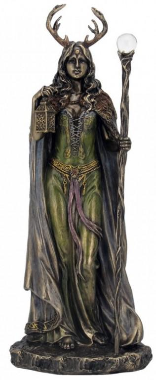 Photo of Keeper of The Forest Figurine 28 cm Wiccan Lady