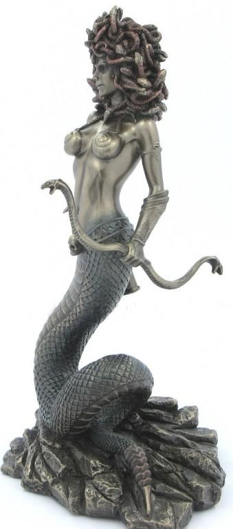 Photo of Medusa Bronze Figurine