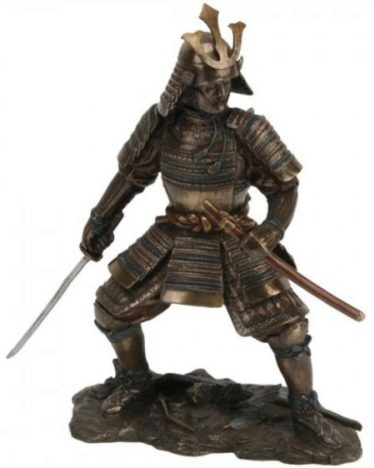 Photo of Samurai Ready for Battle Figurine