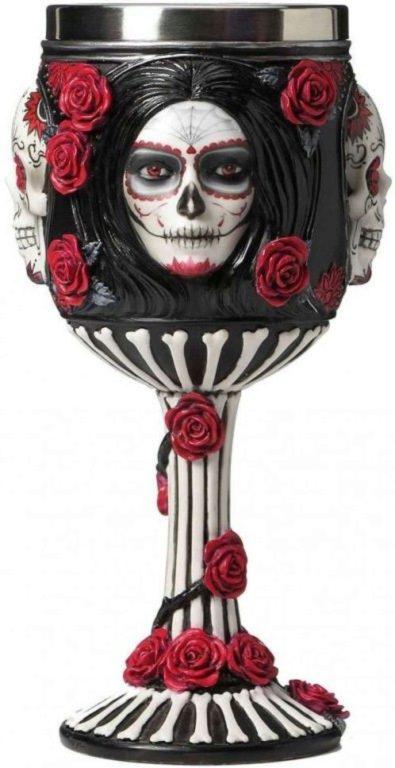 Photo of Sugar Skull Goblet 18cm James Ryman